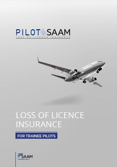 Plaquette PILOT SAAM TRAINEE PILOT EUR