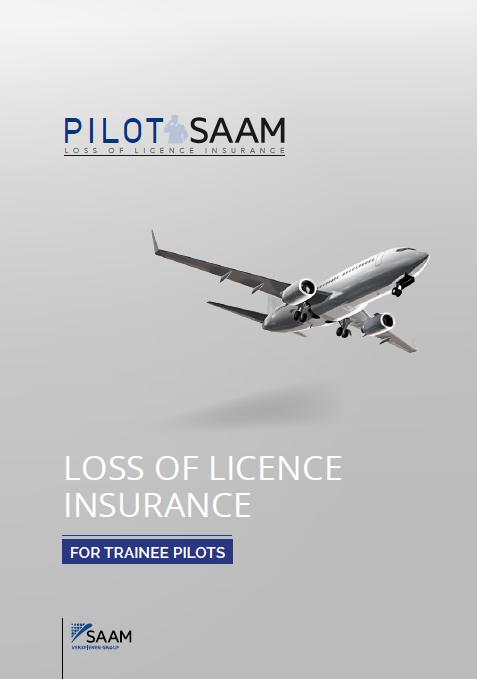 Plaquette PILOT SAAM TRAINEE PILOT USD